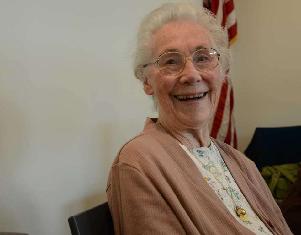 Barbara Torrance, 88, of Farmingdale, is one of