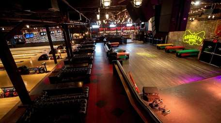 Brooklyn Bowl in Williamsburg features bowling -- and