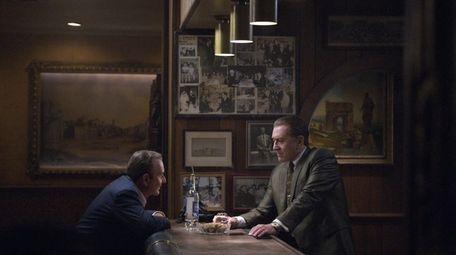 Joe Pesci and Robert De Niro star in