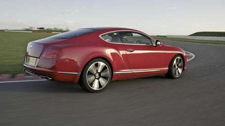 The 2012 Bentley Continental.