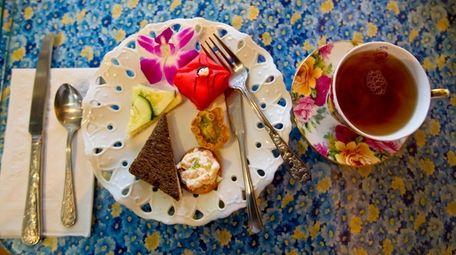Robinson's Tea Room in Stony Brook, an