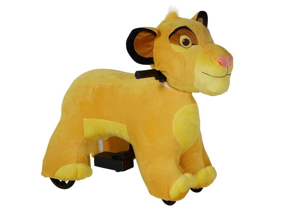 This Walmart exclusive ride-on plush Simba roars like