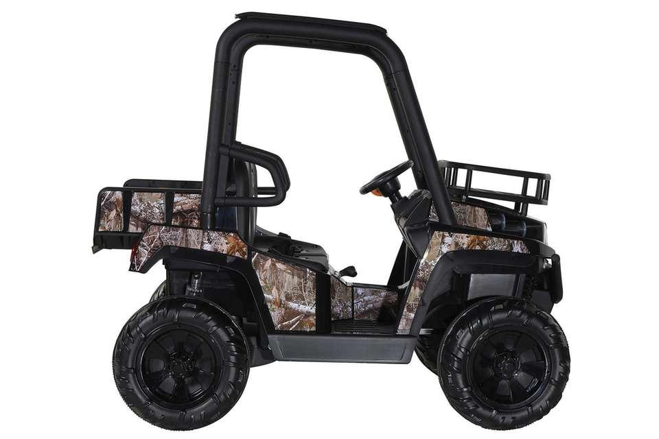This Walmart exclusive features realistic and working headlights,