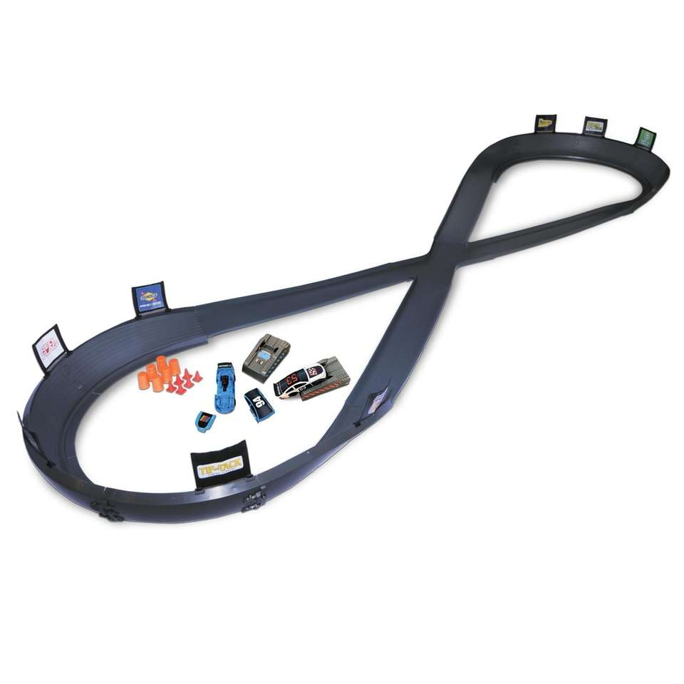 This Walmart exclusive figure eight track allows kids