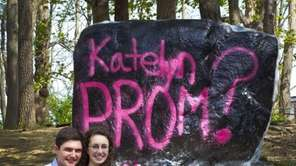 7. Prom proposals get creative Popping the prom
