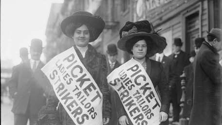 Strike Pickets, 1910