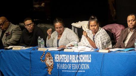 Hempstead's school board meets in January. Some Hempstead