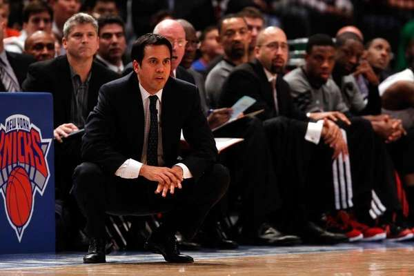 Head coach Erik Spoelstra of the Miami Heat