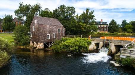 The Nicoll Grist Mill, now under electric power