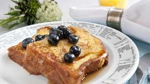Brioche French Toast. (April 23, 2012)