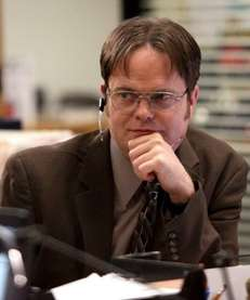 Rainn Wilson plays Dwight Schrute in quot;The Office,quot;