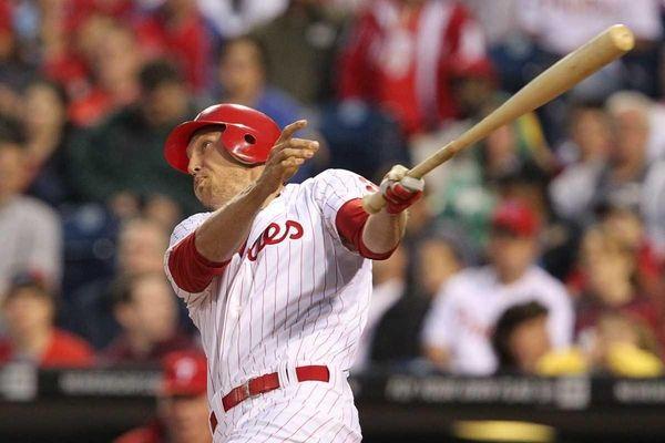 Right fielder Hunter Pence #3 of the Philadelphia