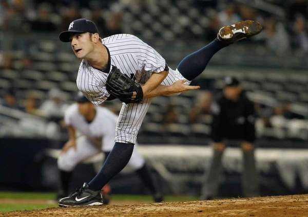 David Robertson #30 of the New York Yankees