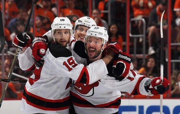Ilya Kovalchuk #17 of the New Jersey Devils