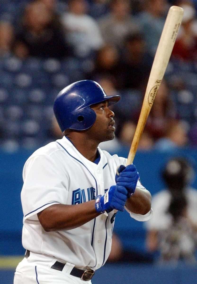 Sept. 25, 2003 Delgado went 4-for 4-with six