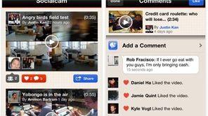 Socialcam is a mobile video app that lets