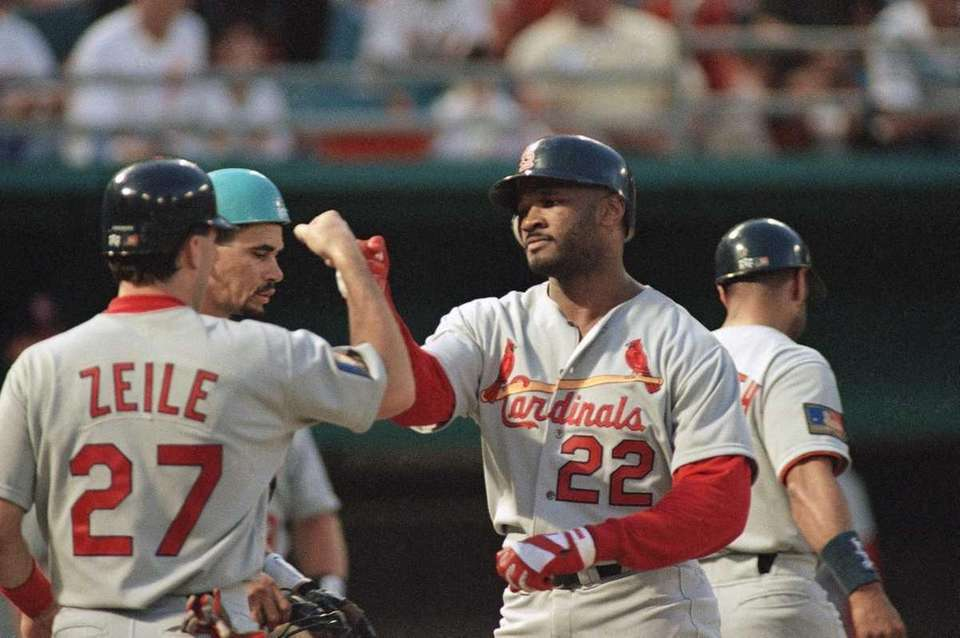 MARK WHITTEN, St. Louis Cardinals Sept. 7, 1993
