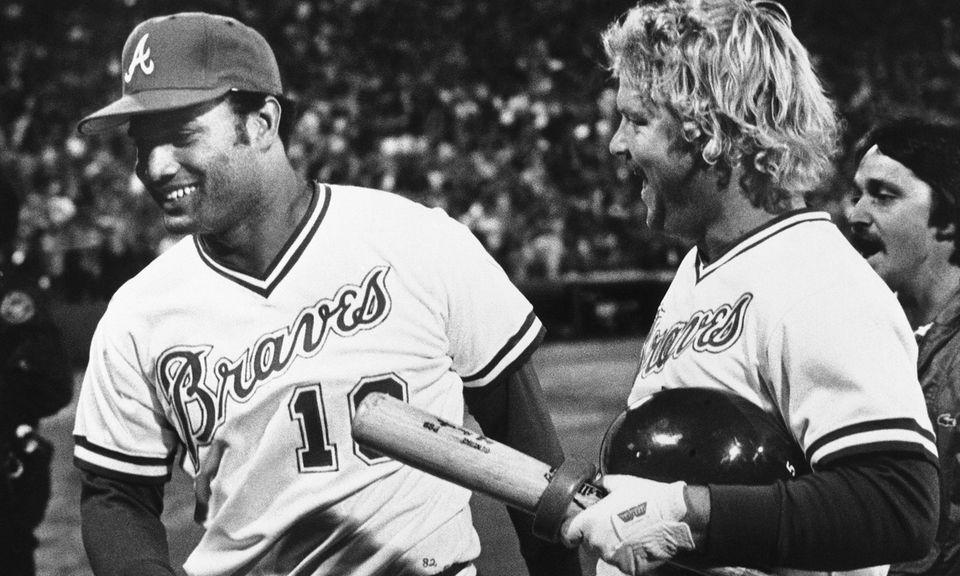 BOB HORNER, Atlanta Braves July 6, 1986 Horner