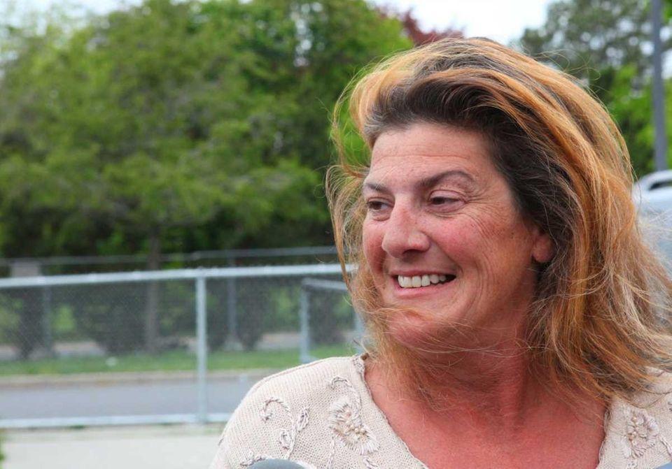 Catherina Scalia leaves the County Correctional facility. (May