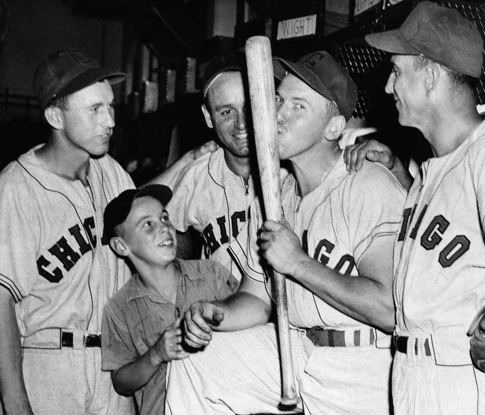 PAT SEEREY, Chicago White Sox July 18, 1948