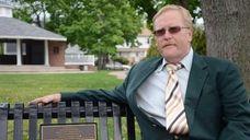 Farmingdale Mayor Ralph Ekstrand, 57, sits on a