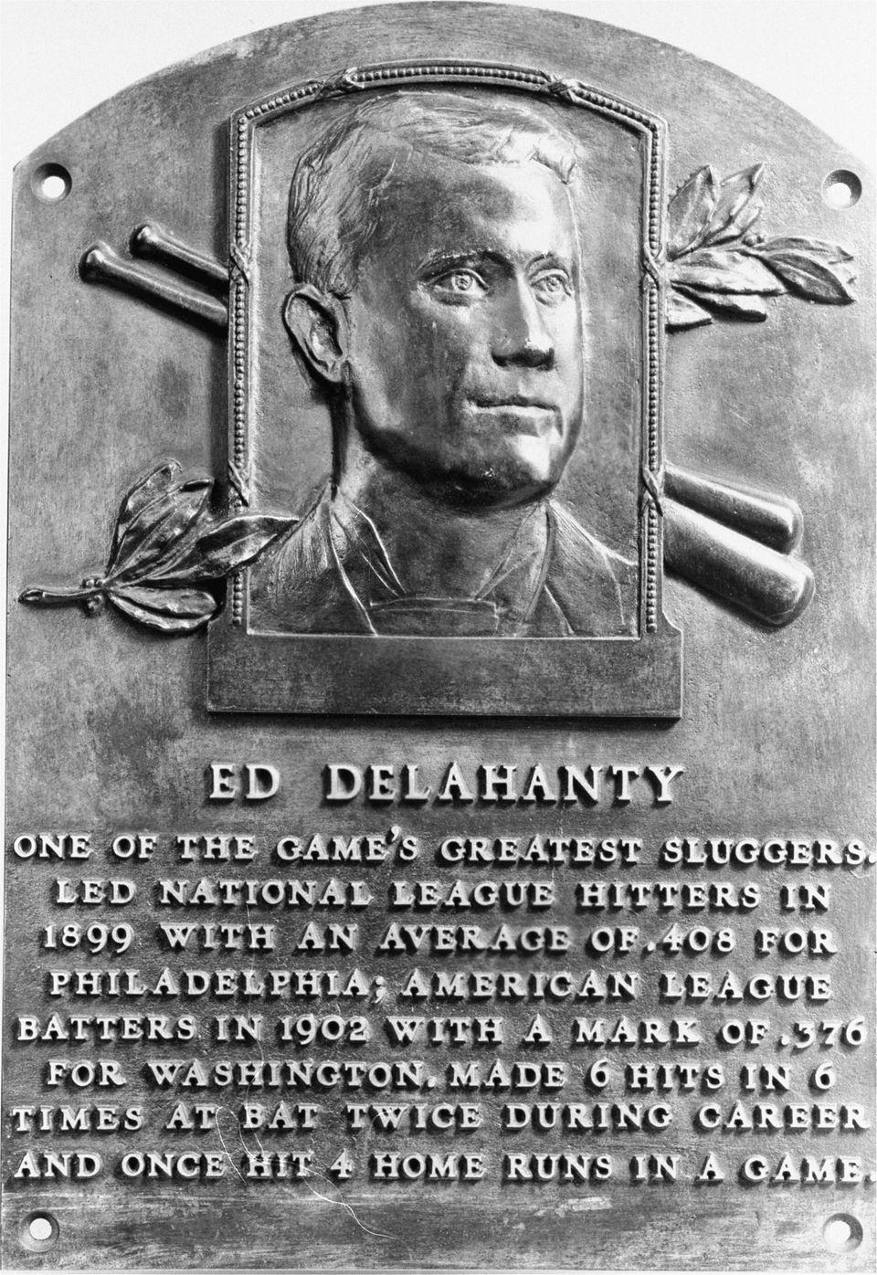 ED DELAHANTY, Philadelphia Quakers July 13, 1896 According