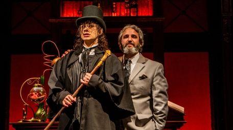 "Alan Stentiford, left, stars in ""Jekyll & Hyde,"""