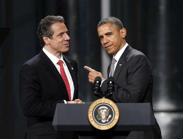 President Barack Obama and Gov. Andrew M. Cuomo