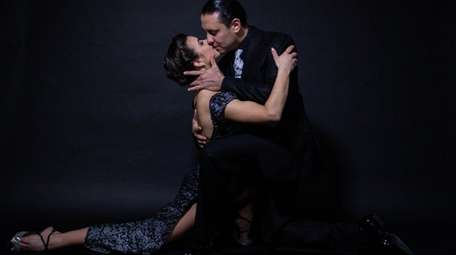 Sarita Apel and Andres Bravo perform in