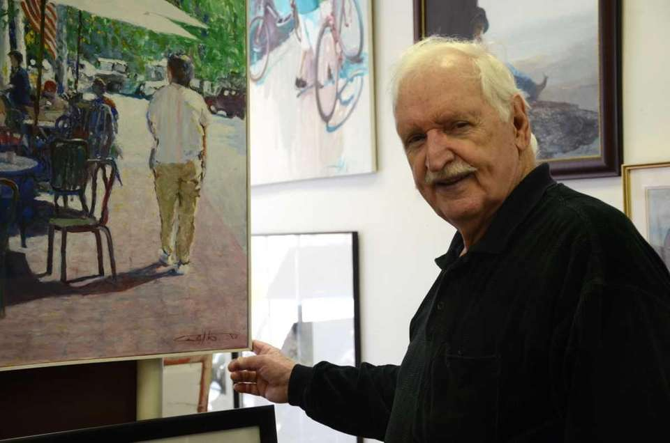 Artist Paul A. Gatto has owned an art