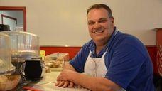 Joe Tonelli, 55, of Massapequa, is co-owner of
