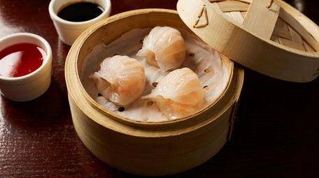 Steamed crystal shrimp dumplings are a Cantonese classic