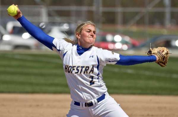 Hofstra pitcher Olivia Galati throws a pitch. (Undated