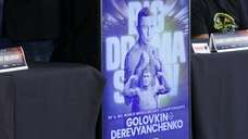 Former middleweight champion Gennady Golovkin and middleweight contender