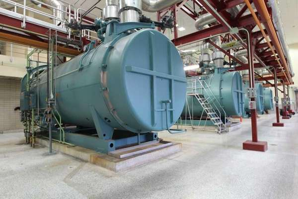 The boiler room of the Cedar Creek Water
