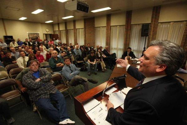 Nassau County Executive Edward P. Mangano talks about