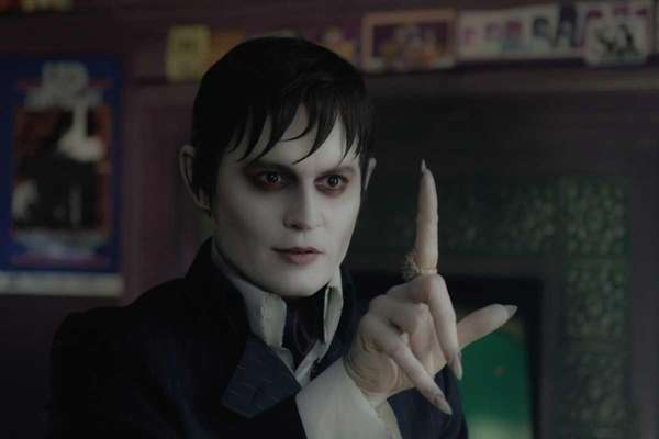 Johnny Depp as Barnabas Collins in Warner Bros.