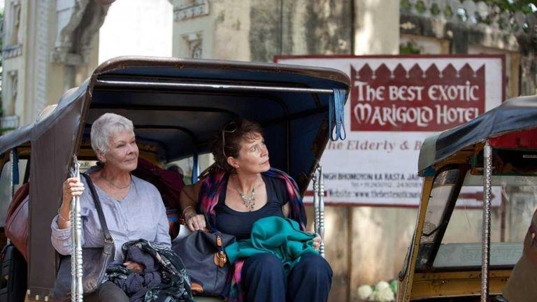 Judi Dench, left, and Celia Imre in
