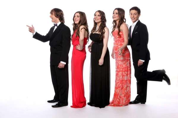 The Carbone quintuplets, 2012 Project Prom winners.
