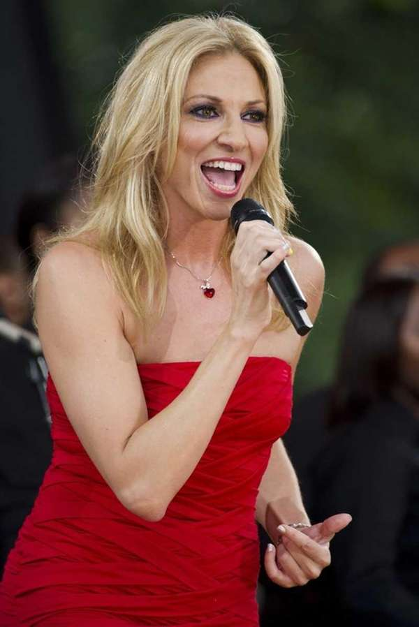 Debbie Gibson performs on ABC's Good Morning America