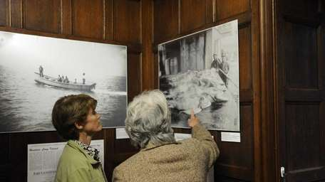 The Islip Art Museum hosts an exhibit in