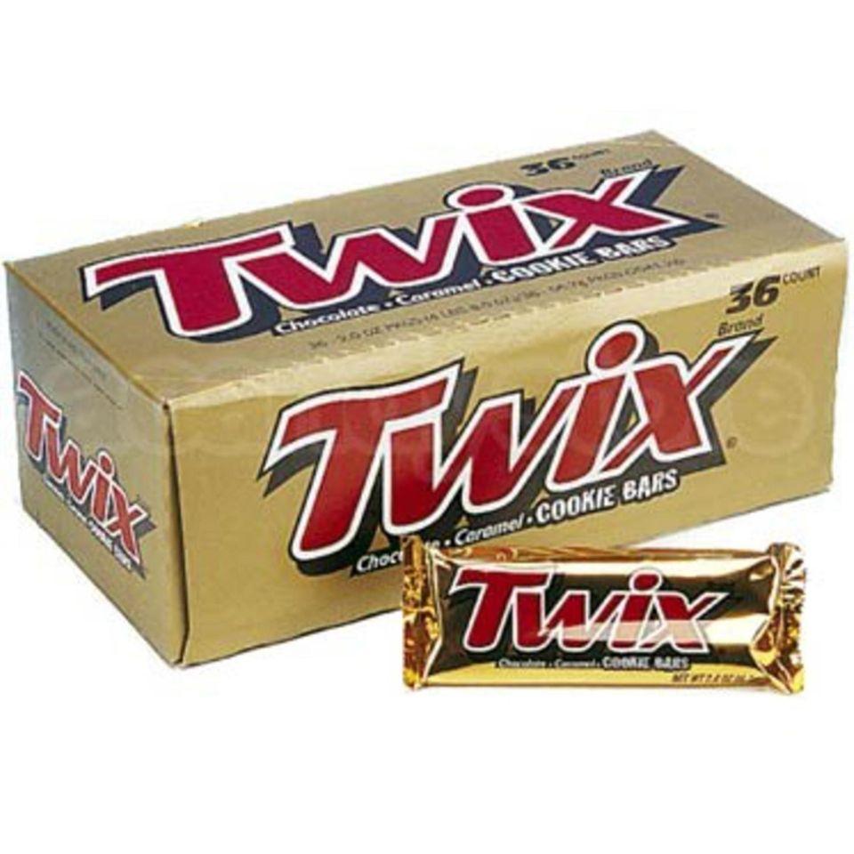 Twix: 17,543 pounds