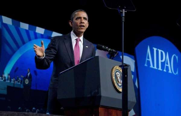 President Barack Obama addresses thousands at the opening
