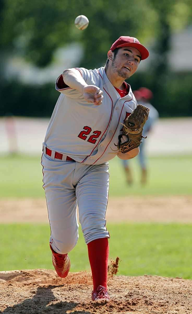 East Islip starting pitcher Ken Rotunno (22). (May