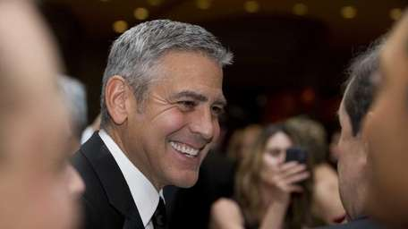 A file photo of actor George Clooney at