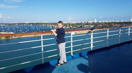 Kidsday reporter Thomas Jemison from West Babylon on