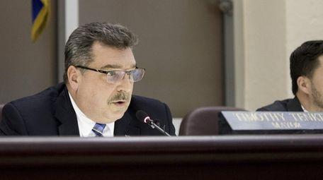 Glen Cove Mayor Timothy Tenke wants the city's