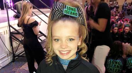 Kidsday reporter and Long Island Cheer member Lacey