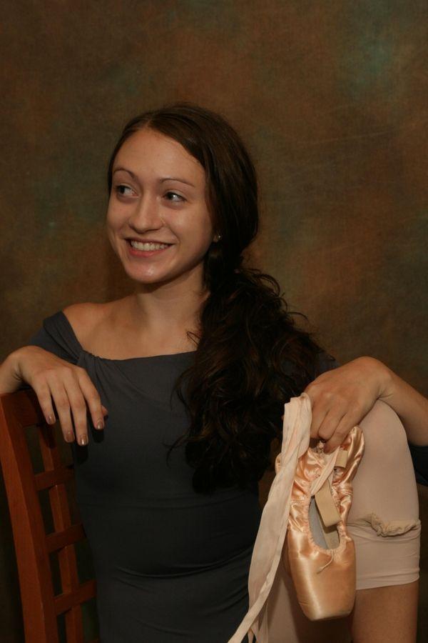 Alyssa Brogan of Saint Dominic's High School is