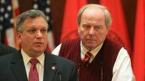 Nassau County Executive Edward Mangano, Presiding Officer Peter